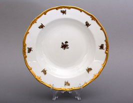 Набор глубоких тарелок Weimar РОЗА ЗОЛОТАЯ 24 см ( артикул МН 739 В )