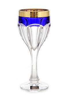 Набор бокалов САФАРИ Синие Bohemia Crystal 290 мл