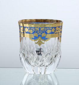 Набор стаканов для виски Astra Gold NATALIA BLUE 350 мл