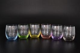 Набор стаканов для виски АРЛЕКИНО КАЛОРС Bohemia Crystal 300 мл