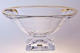 Ваза для фруктов  МАГМА ЗОЛОТО Bohemia Crystal 34 см