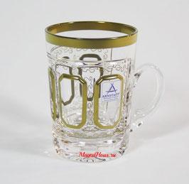 Немецкий Хрусталь ARNSTADT. Набор для чая КЛАССИК ( артикул МН 28212 В )