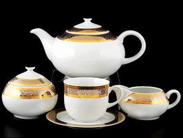 Чайный сервиз АНГЕЛИКА Thun на 6 персон 15 предметов