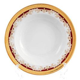 Набор глубоких тарелок Thun КРАСНАЯ ЛИЛИЯ 22 см