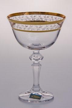 Набор бокалов для мартини ЛАУРА Bohemia Crystal 180 мл