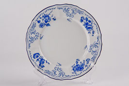Набор закусочных тарелок СИНИЙ Bernadotte 19 см