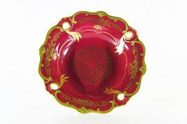 Ваза для фруктов Weimar ЮВЕЛ Красный Илза 31 см ( артикул МН 12690 В )