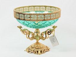 Декоративная ваза для фруктов Rozaperla 30 см