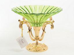 Декоративная ваза для фруктов Rozaperla 32 см