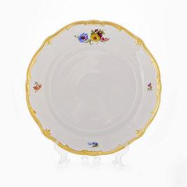 Блюдо круглое Weimar МЕЙСЕНСКИЙ БУКЕТ 30 см ( артикул МН 17909 В )
