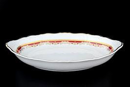 Хлебница Thun КРАСНЫЙ УЗОР 33 см