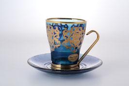 Набор для чая Art Decor COLOR на 6 персон 12 предметов