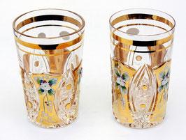ХРУСТАЛЬ С ЗОЛОТОМ набор стаканов 250 мл