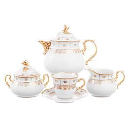 Чайный сервиз НАТАЛИ Thun на 6 персон 15 предметов