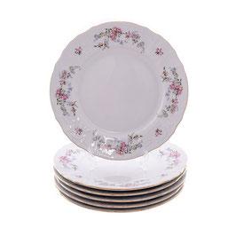 Набор постановочных тарелок ЦВЕТЫ Bernadotte 25 см