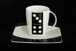 Набор для чая Thun ДОМИНО на 6 персон 12 предметов