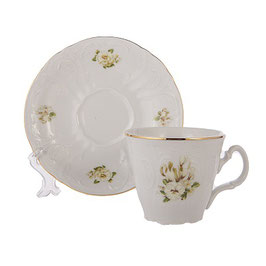 Набор для чая Bernadotte ДИКАЯ РОЗА на 6 персон 12 предметов