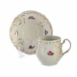 Набор для чая ПОЛЕВОЙ ЦВЕТОК Ивори  Bernadotte 2 предмета