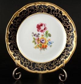 Набор десертных тарелок Weimar САНКТ ПЕТЕРБУРГ кобальт 17 см ( артикул МН 4715 В )