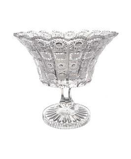 Хрустальная ваза для конфет Sonne Crystal 20 см