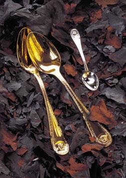 Набор Столовых Приборов ROZENTHAL VERSACE MEDUSA GOLD на 12 персон 126 предметов