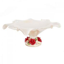 Ваза для фруктов White Crystal 39*39*19 см