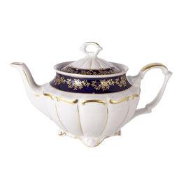 Чайник заварочный МАРИЯ ТЕРЕЗА СИНЯЯ Bavarian Porcelain 1100 мл