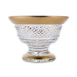 Хрустальная ваза для варенья Glasspo ФЕЛИЦИЯ 12 см