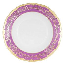 Набор глубоких тарелок Weimar ЮВЕЛ Фиолетовый 24 см ( артикул МН 54885 В )