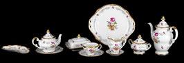 Немецкий чайный сервиз Weimar САНКТ - ПЕТЕРБУРГ на 12 персон 55 предметов ( артикул МН 12446 В )