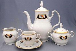 Кофейный сервиз СИНИЙ ГЛАЗ Bernadotte на 6 персон 15 предметов