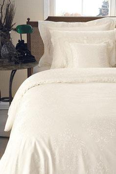 Постельное Белье VALERON SATIN JACQUARD 2 спальное GLOSSARY Кремовы