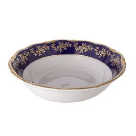Салатник круглый МАРИЯ ТЕРЕЗА СИНЯЯ Bavarian Porcelain 23 см