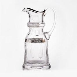 Кувшин  ДЖЕССИ ПЛАТИНОВЫЙ ОБОДОК Kvetna 1,5 литра