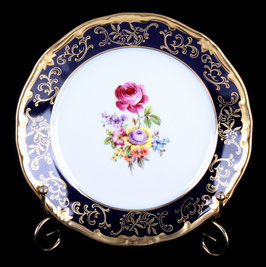 Набор закусочных тарелок Weimar САНКТ ПЕТЕРБУРГ кобальт 19 см ( артикул МН 8177 В )