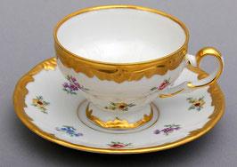 Набор для кофе Weimar МЕЙСЕНСКИЙ ЦВЕТОК на 6 персон 12 предметов ( артикул МН 3701 В )