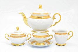 Чайный сервиз Sterne Porcelan МАТОВАЯ ПОЛОСА на 6 персон 15 предметов