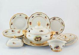 Столовый сервиз Sterne Porcelan ФРУКТЫ на 6 персон 27 предметов