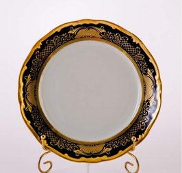 Набор постановочных тарелок Weimar СИМФОНИЯ ЗОЛОТАЯ КОБАЛЬТ 26 см ( артикул МН 23832 В )