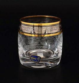 Набор стаканов для виски Bohemia Crystal КЛАУДИЯ ПЛАТИНА 290 мл