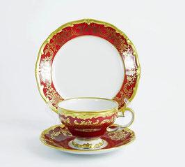 Набор для чая Weimar ЮВЕЛ Красный 18 предметов ( артикул МН 28291 В )