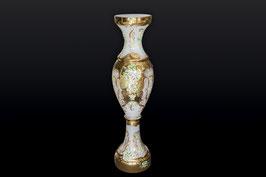 Напольная ваза для цветов ЛЕПКА СМАЛЬТА БЕЛАЯ 110 см