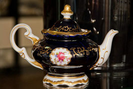 Чайник заварочный Weimar САНКТ ПЕТЕРБУРГ кобальт 600 мл ( артикул МН 6736 В )