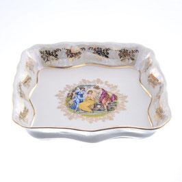 Салатник квадратный МАДОННА Queens Crown 23 см