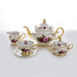 Чайный сервиз РОЗА Carlsbad на 6 персон 15 предметов