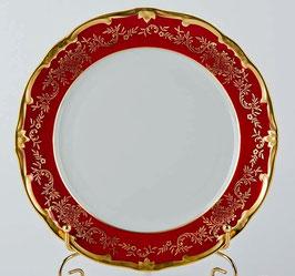 Набор постановочных тарелок Weimar ЮВЕЛ Красный 24 см ( артикул МН 7539 В )