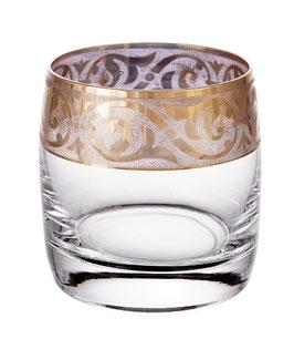 Набор стаканов для виски КЛАУДИЯ МАХАРАДЖИ Bohemia Crystal 230 мл