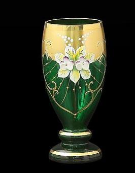 Набор стаканов Bohemia crystal ЛЕПКА СМАЛЬТА ЗЕЛЕНАЯ 200 мл