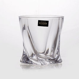 Набор стаканов КВАДРО Прозрачный Bohemia Crystal 340 мл