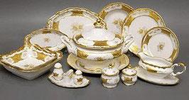 Немецкий столовый сервиз Weimar КЛЕНОВЫЙ ЛИСТ БЕЛЫЙ на 12 персон 48 предметов ( артикул МН 34278 В )